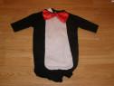 Costum carnaval serbare animal pinguin 0-3 luni