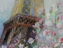 Tablou Paris 2-pictura ulei pe panza