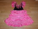 Costum carnaval serbare rochie dans flamenco 6-7 ani