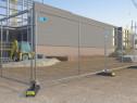 Garduri mobile delimitare santier, gard mobil evenimente