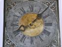 Ceas taranesc cu pendula si o greutate, anii 1800