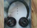 Casti MYRIA MY9049, Bluetooth, On-Ear, Microfon, negru