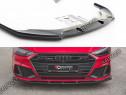 Prelungire splitter bara fata Audi A7 C8 S-line 2017- v2