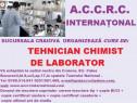 Curs Tehnician chimist de laborator