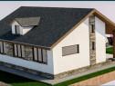 Proiect de casa cu 380mp teren, Stupini
