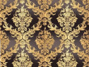 Tapet pvc splendid gold 630110 0.53x10m