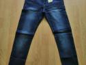 Pantaloni Blugi / Jeans Skinny fit, Efect de prespalat,NOI