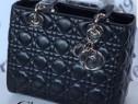 Genti firmă Lady Dior/France,accesorii metalice,saculet