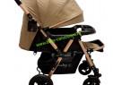 Cărucior nou născut 2in1+plasă Baby Care 511 Dark Capuccino