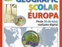 Atlas geografic scolar, Europa, cu harti color