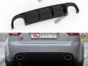 Prelungire difuzor bara spate Audi A4 RS4 B7 Sedan 06-08 v12