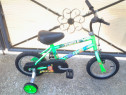 """The Jungle by Raleigh - bicicleta copii 12"""" (2-5 ani)"""