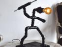 Lampa sulitas steampunkdesigncj, lampa steampunk
