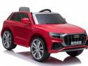 Masinuta electrică pentru copii Audi Q8 12V 2x20W #Rosu