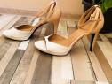 Calvin Klein sandale bicolore