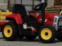 Tractor electric 12V cu Remorca, Blutooth si Telecomanda