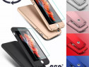 Husa 360° fata + spate pt iPhone 8 Plus, X, XS, XR, XS Max