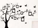 "Autocolant sticker decorativ home ""copac cu 7 rame foto"""