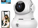 Camera ip wi-fi smart 360 grade FullHD nightvision stereo