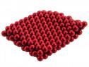 Neocube 216 bile magnetice 5mm, rosu