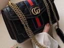 Geanta Gucci model nou logo metalic auriu calitate garantată