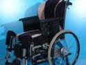 Fotoliu, scaun cu rotile nepliabil Netti / sezut 40 cm