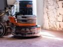 Slefuirea betonului cu expunerea agregatelor.