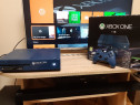 Xbox one 1 tb,blue edition,1 maneta 4 jocuri