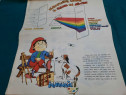 A.b.c-ul micului pictor / carte joc/ anii 1980 / 12 planșe/