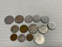 Monede romanesti vechi 1leu 5 lei 20 lei 100 lei 500 lei Fix
