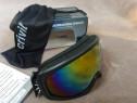 Ochelari pentru schi, snowboard, rama neagra, noi