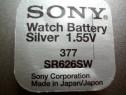 Baterie ceas Sony, cu argint AG4-LR626-G4-LR66-177-377-SR626