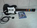 Chitara cu fir Redoctane si joc Guitar Hero pentru PS2