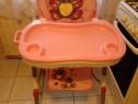Scaun pentru masa copil si frumos si cuminte