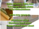 Tabla aluminiu lisa 0.3mm foaie inox coala alama table cupru