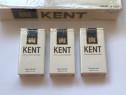 3 pachete Kent lung necartonat original comunist SUA USA cas