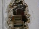 "Oglinda veche cu rama din portelan ""Rudolf Kammer Porcelain"""