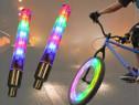 Set 2 led valve , leduri multicolore pentru roti la biciclet