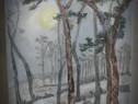 In noapte 1-pictura ulei pe panza