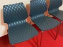Scaune de bucatarie/terasa - Inox cu plastic - Metalmobil