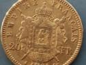 Monede 20 franci aur 1861,1865