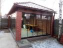 Închideri terase balcoane foisoare cu sticlă securizată