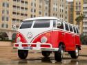 Masinuta electrică pentru 2 copii VW Samba BUS 90W 12V