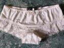 Chiloti sexy BOOHOO(UK) albi dantela transparenti fete/femei