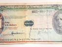 C334-I-Bancnota CEC calatorie USA 50 $ Master Card.