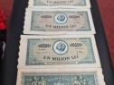 Bancnote un milion lei