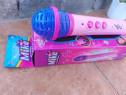 Microfon pentru fetite jucarie pe baterii melodii jucarii im