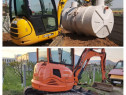 Excavator bobcat miniexcavator basculante inchiriat
