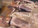 Sudura - reparatie - incarcare cupa excavator