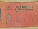 C747-I- ALEXANDRIA si imprejurimile-Album vechi artistic.